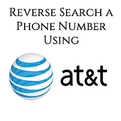 image for AT&T phone number lookup method