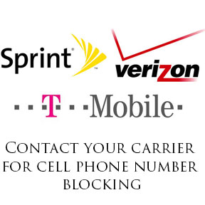 How to contact your carrier to request phone number blocking