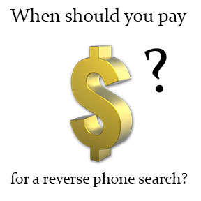 When should you pay to know a name behind a phone number?