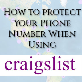 How to protect your phone number when doing business on Craigslist