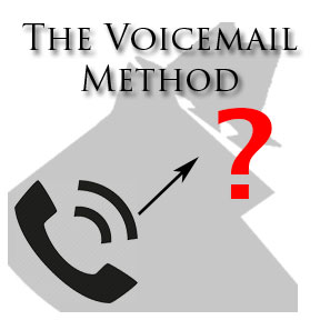 Method: Listen to the unknown callers voicemail without actually calling them