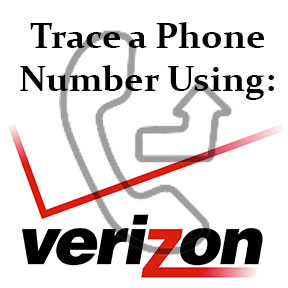 trace a phone number using a free verizon service