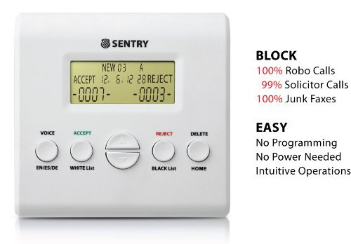 Review: SENTRY Dual Mode Call Blocker