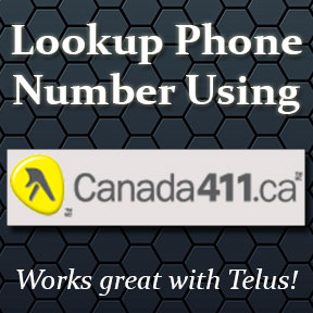 Canada 411 reverse phone number search online