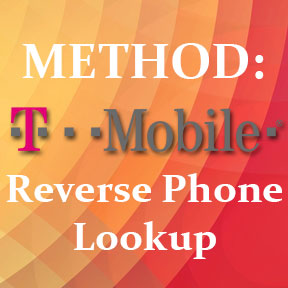 Reverse phone lookup for T-Mobile customers