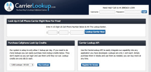 Carrier_Lookup
