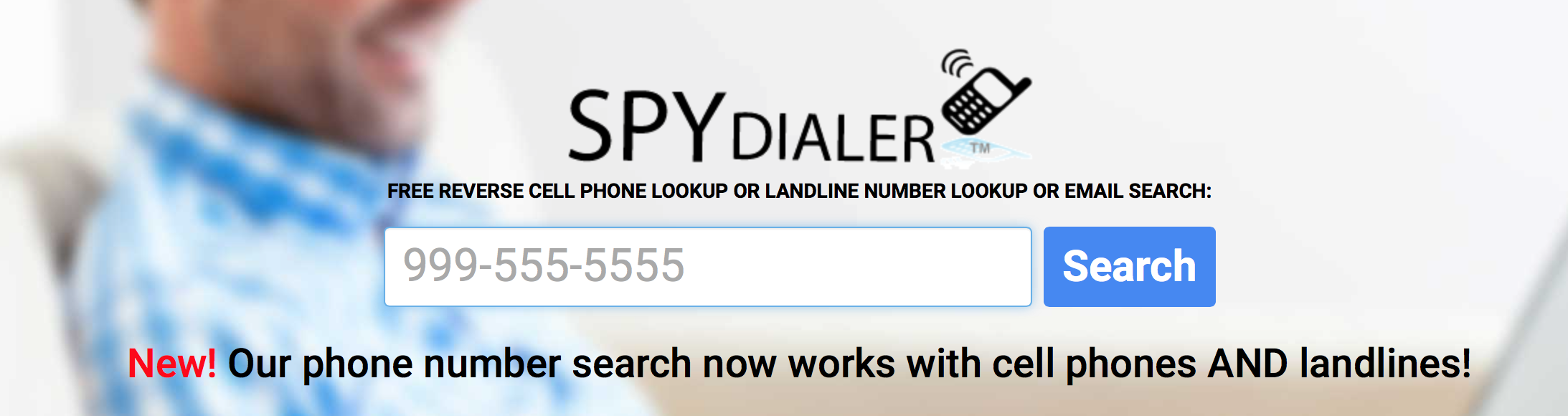 enter your phone number in the box where the phone number is shown on this page