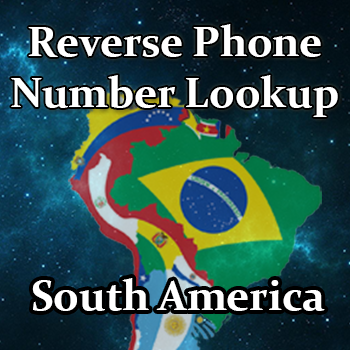 Lookup Phone Number in South America