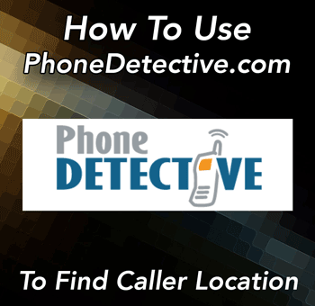 Reverse Phone Number Lookup Location Using PhoneDetective.com