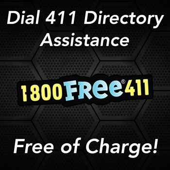 free 411 directory assistance using free-411