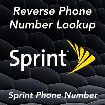 sprint phone number lookup