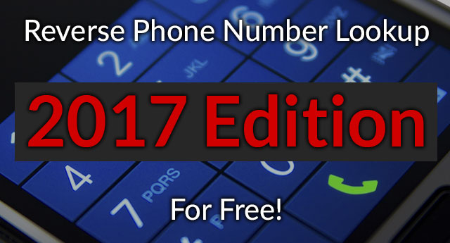free phone number lookup 2017 edition