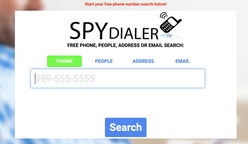can spy dialer be traced