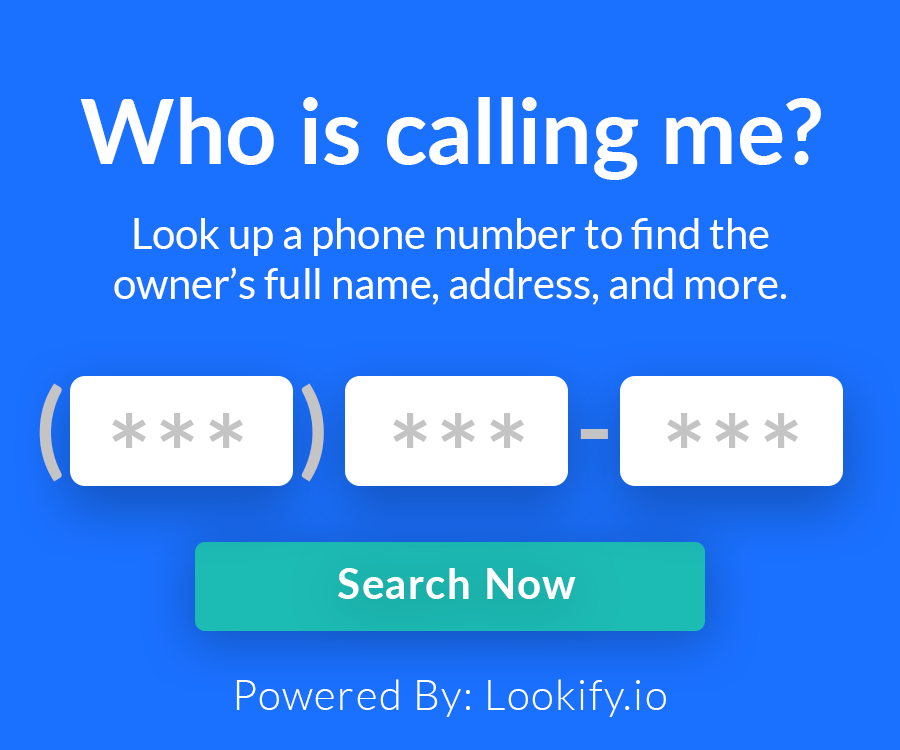 Lookify.io - Lookup a phone number
